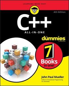 C++ All-in-One For Dummies (eBook, PDF) - Mueller, John Paul