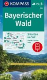 KOMPASS Wanderkarte Bayerischer Wald