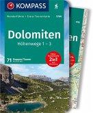 KOMPASS Wanderführer Dolomiten Höhenweg 1 bis 3
