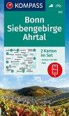 KOMPASS Wanderkarte Bonn, Siebengebirge, Ahrtal