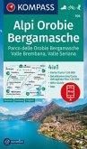 KOMPASS Wanderkarte Alpi Orobie Bergamasche