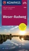 Fahrrad-Tourenkarte Weserradweg