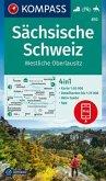 KOMPASS Wanderkarte Sächsische Schweiz, Westliche Oberlausitz