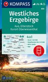 KOMPASS Wanderkarte Westliches Erzgebirge, Aue, Eibenstock, Kurort Oberwiesenthal