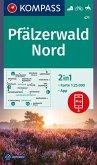 KOMPASS Wanderkarte Pfälzerwald Nord