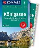 KOMPASS Wanderführer Königssee, Nationalpark Berchtesgaden, Watzmann