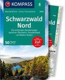 KOMPASS Wanderführer Schwarzwald Nord, Die schönsten Wanderungen zwischen Pforzheim, Freudenstadt und Baden-Baden