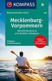 KOMPASS Wasserwanderatlas Mecklenburg-Vorpommern