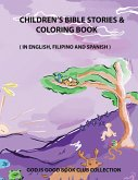Children's Bible Stories & Coloring Book