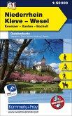 Niederrhein, Kleve-Wesel, Kevelaer, Xanten - Bocholt