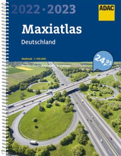 ADAC Maxiatlas 2022/2023 Deutschland 1:150 000