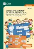 Lernplakate gestalten im Musikunterricht 2-4