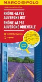 MARCO POLO Regionalkarte Frankreich: Rhône-Alpes, Auvergne Ost 1:300 000