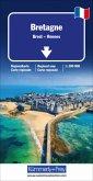 Bretagne Regionalkarte