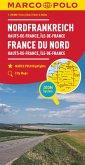 MARCO POLO Karte Frankreich Hauts-de-France, Île-de-France 1:250 000