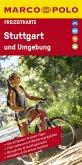 MARCO POLO Freizeitkarte Deutschland Blatt 39 Stuttgart und Umgebung