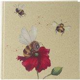 Goldbuch Green Vibes Biene 25x25 60 weiße Seiten 24108