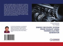 ENERGY RECOVERY SYSTEM FROM EXHAUST USING THERMO-ELECTRIC GENERATOR