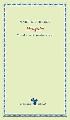 Hingabe (eBook, PDF) - Scherer, Martin