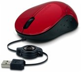 SPEEDLINK BEENIE Mobile Mouse - Wired USB, red