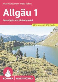 Allgäu 1 (eBook, ePUB) - Baumann, Franziska; Seibert, Dieter