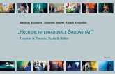 """""""Hoch die internationale Solidarität!"""" (eBook, PDF)"""
