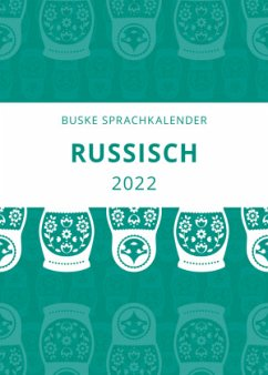 Sprachkalender Russisch 2022 - Popov, Vadim