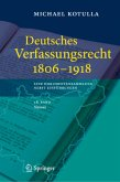Deutsches Verfassungsrecht 1806 - 1918