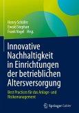 Innovative Nachhaltigkeit in Einrichtungen der betrieblichen Altersvorsorge