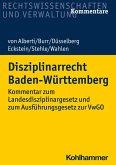 Disziplinarrecht Baden-Württemberg (eBook, PDF)