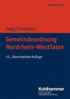 Gemeindeordnung Nordrhein-Westfalen (eBook, ePUB)
