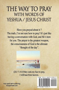 The way to Pray with the words of Yeshua / Jesus Christ - Cardoso, Ardeci