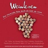 Weinlesen - Eine literarische Reise durch die Welt der Weine (ungekürzt) (MP3-Download)