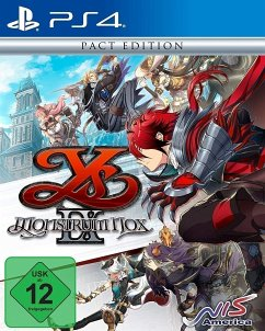 Ys IX: Monstrum Nox Pact Edition (PlayStation 4)