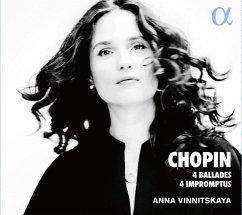 4 Balladen & 4 Impromptus - Vinnitskaya,Anna