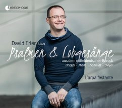 Psalmen & Lobgesänge Aus Dem Mitteldt.Barock - Erler,David/Voskuilen,Rien/L'Arpa Festante