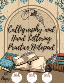 Calligraphy and Hand Lettering Practice Notepad: Beginner Practice Workbook - 150 Pages with Slanted Angle Notepad - Alphabet Practice Sheet - Dot Gri