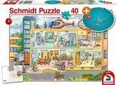 Beim Kinderarzt (Kinderpuzzle)