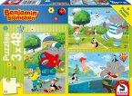 Benjamin Blümchen, Sport und Spiel mit Törööö! (Kinderpuzzle)