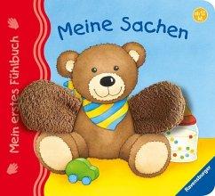 Mein erstes Fühlbuch: Meine Sachen (Restauflage) - Grimm, Sandra