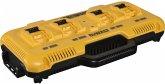 DeWalt DCB104-QW Vierfach-Schnellladegerät