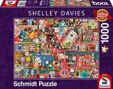 Vintage Gesellschaftsspiele (Puzzle)