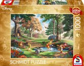 Schmidt 59689 - Disney, Winnie The Pooh, Thomas Kinkade, Puzzle, 1000 Teile