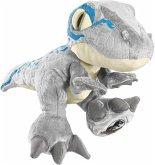 Schmidt 42753 - Jurassic World, Velociraptor Blue, 25cm, Dino, Plüschfigur
