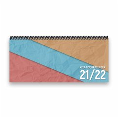 Kita-Tischkalender 2021/22 XL (bunt)