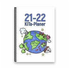 KiTa-Planer 2021-22 (weiß, Welt)