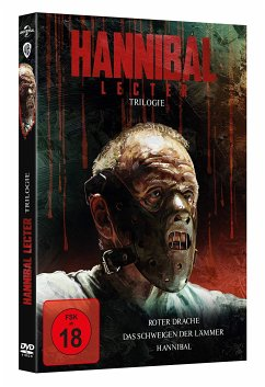 Hannibal Lecter Trilogie DVD-Box - Sir Anthony Hopkins,Jodie Foster,Gary Oldman