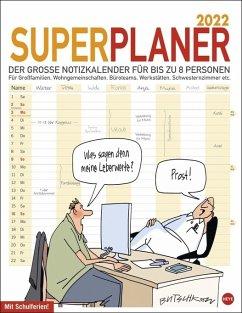 Butschkow Superplaner - Kalender 2022 - Butschkow, Peter