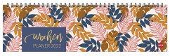 Tropical Leaves Wochenquerplaner Kalender 2022