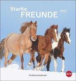 Pferde Postkartenkalender 2022
